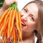 Красота из моркови