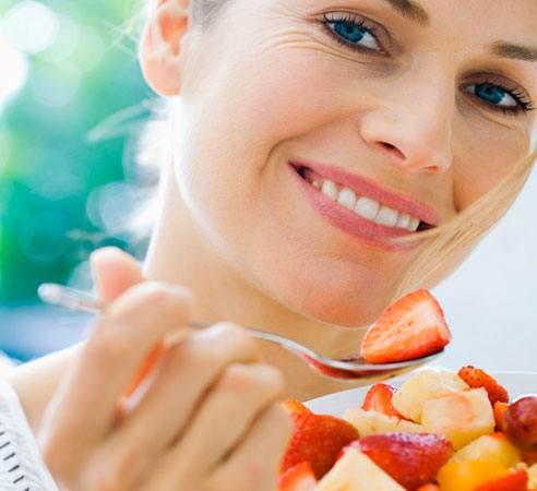 Продукты с малым содержанием калорий