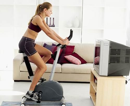 Занятие спортом в домашних условиях