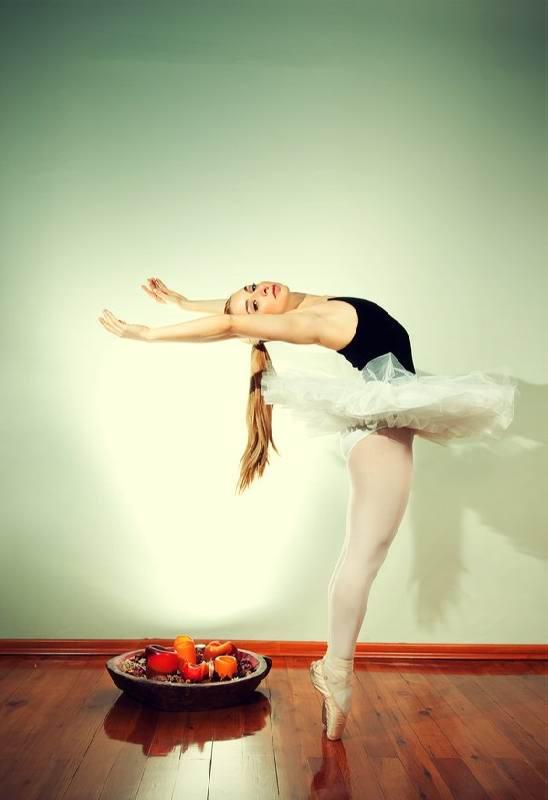 Диета балерины или 5 правил для стройного тела