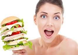 Как женщине набрать вес