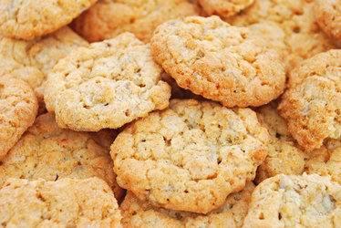 Худеем вкусно - низкокалорийное овсяное печенье