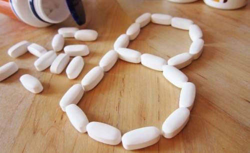 Витамины группы B в таблетках
