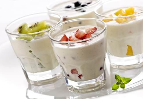 Домашний йогурт со злаками или смузи