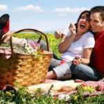 Здоровая еда для пикника