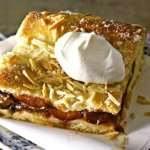 Итальянский сливовый пирог с безе