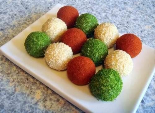 Рецепт приготовления творожных шариков