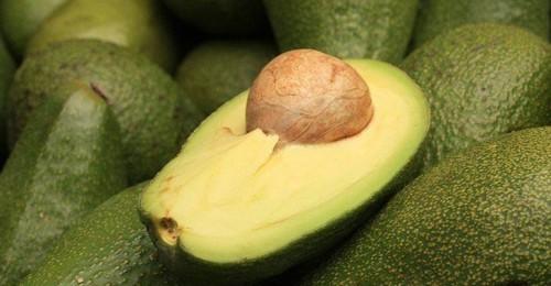 Плоды авокадо - крупным планом